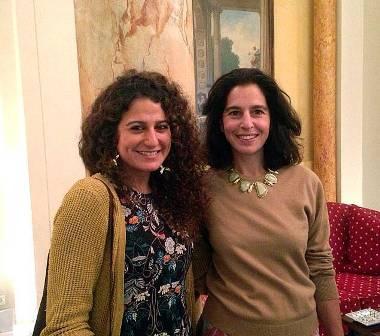 Zeina Abi Rached (à g.) et Lamia Ziadé, corécipiendaires du prix Phénix.