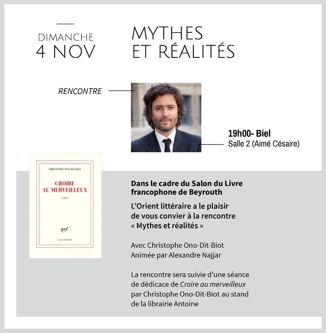 """MYTHES ET RÉALITÉS"""